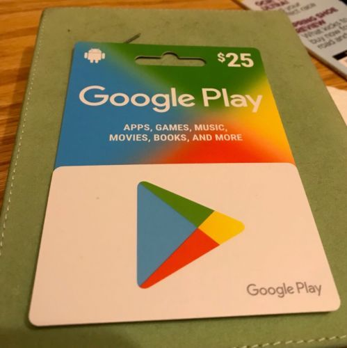 25 Google Play Gift Card Fast Shipping Google Play Gift Card