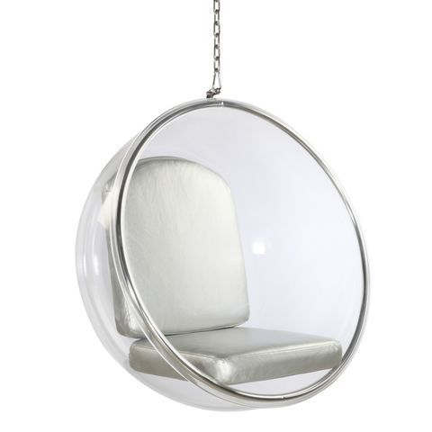Bubble Hanging Chair In Silver By Mod Decor Bubble Chair Diy Hanging Chair Hanging Chair