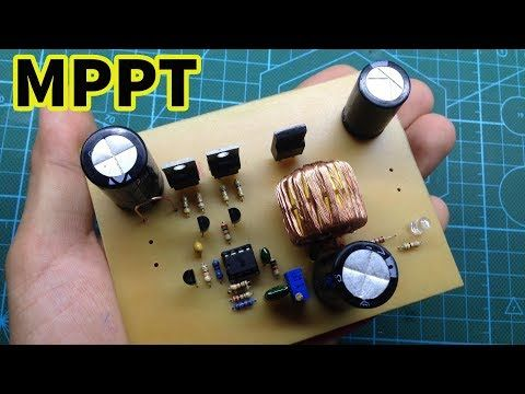 Mppt Buck Boost For Solar And Wind Generation Youtube Electronic Circuit Projects Wind Generator Circuit Projects
