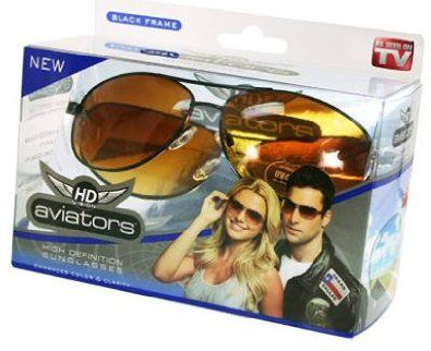 Aviator High Definition Sunglasses, his favorite!