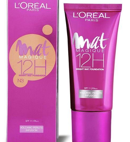 New L Oreal Paris Mat Magique 12h Bright Mat Foundation Price Buy Online Loreal Paris Loreal Skin Brightening