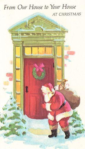 *Vintage Christmas Card*