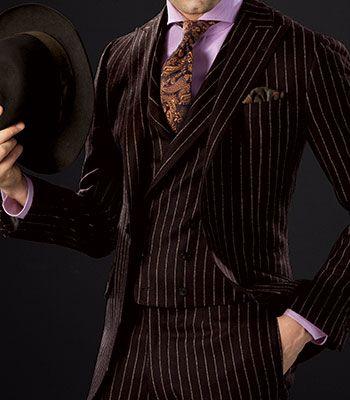 Paul Stuart - Wool Chalk Stripe Phillip Suit, this is fabulous.  I love Paul Stuart.