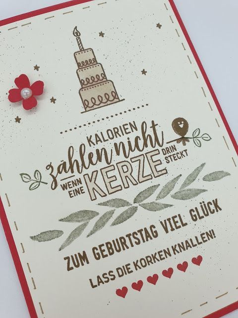 Happy Birthday Glucksfalle Zum Geburtstag Happy Birthday Stampin