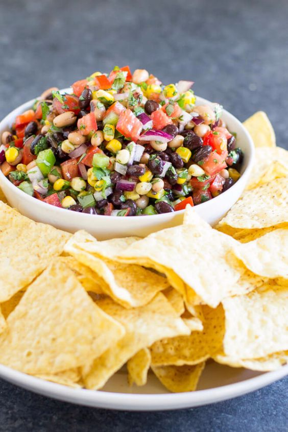 Best Recipes for a Backyard Barbecue - Cowboy Caviar Recipe - Best Cheap, Easy…