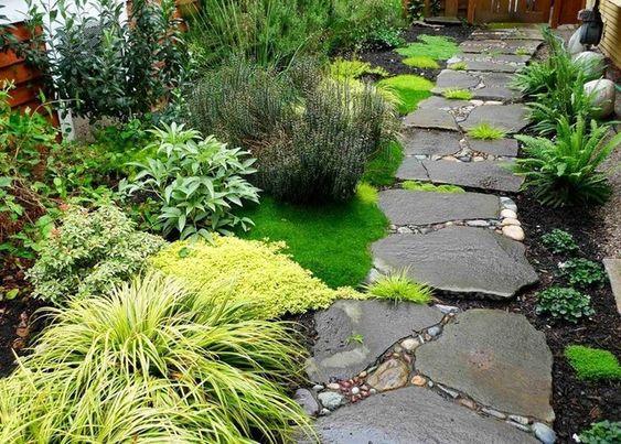 Несколько отличных идей для садовой дорожки (48фото) » Невседома - жизнь…