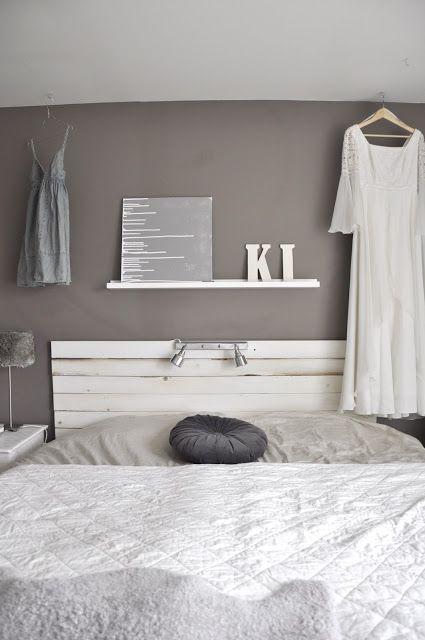 Antes y depu s de un dormitorio en color topo y blanco - Color topo pared ...
