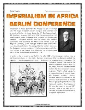 Significance of berlin conference