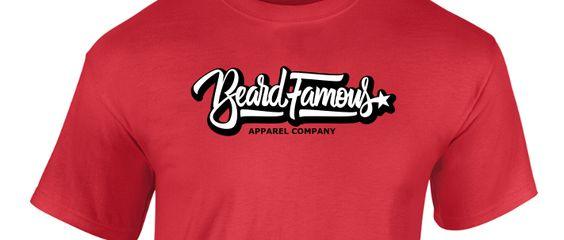 Beard Famous Red Hot T-Shirt