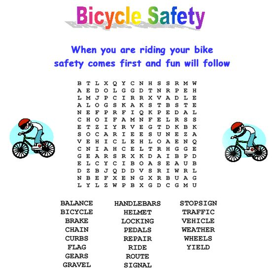 Valuable Safety Bicycle Safety Kids Cub Scouts