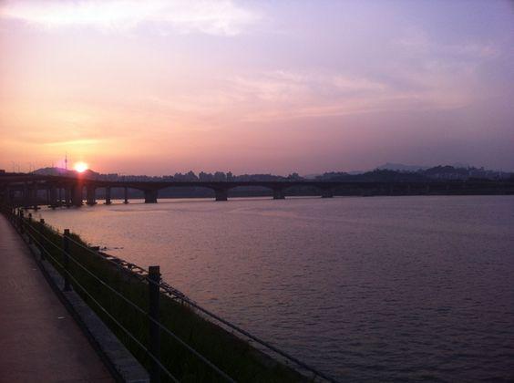 한강 (Han River/漢江) in Seoul