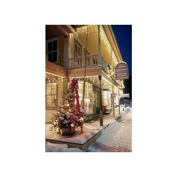 Favorite Places & Spaces / Christmas in Vermont ❤ liked on Polyvore