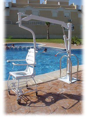www.PatriotMobilityInc.com Oxford Dipper Pool Lift with C socket