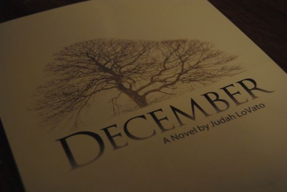 The cover for December. My first published novel soon available through www.tatepublishing.com/bookstore