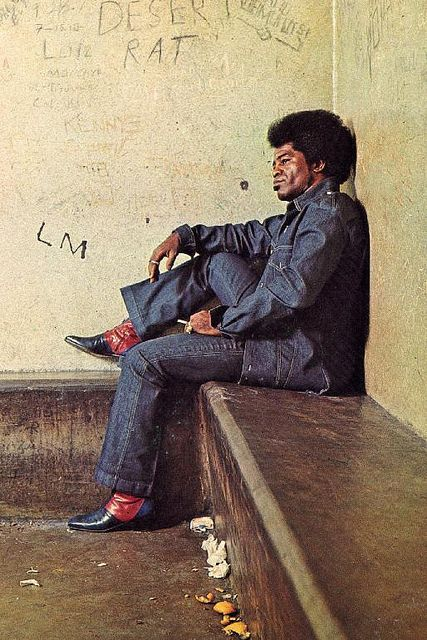James Brown - The DNA of HipHop whether he liked it or not. R.I.P. Mr Brown your music will live forever!