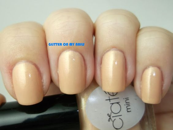 GLITTER ON MY NAILS: IVORY QUEEN BY CIATE