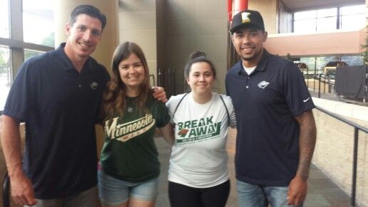 Meeting Carter and Dumba :)