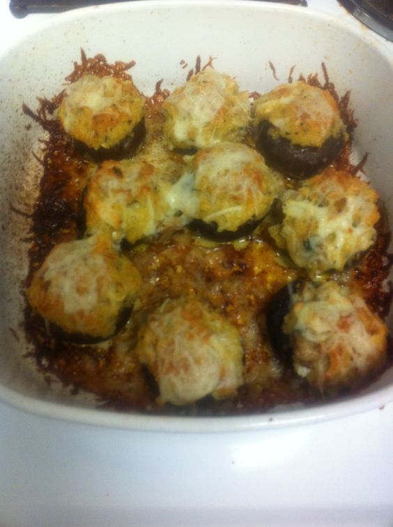 Stuffed Mushrooms Olive Gardens And Mushrooms On Pinterest