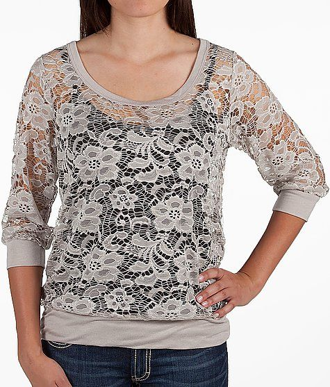 Daytrip Floral Lace Top