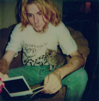Kurt and a kitten i think i just melted