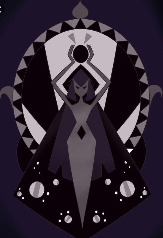 A cool black diamond design steven universe pinterest for Yellow diamond mural