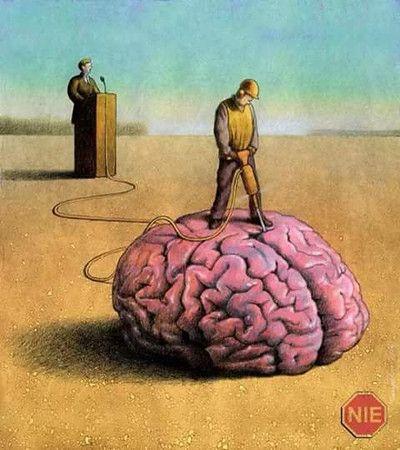 Art - Paweł Kuczyński - Brain Demolition: