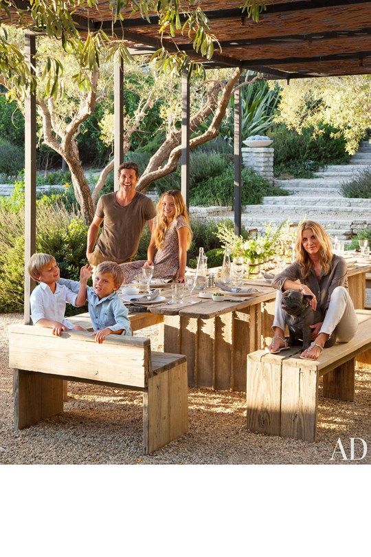 Grey's Anatomy fans - you're going to LOVE this look inside Patrick Dempsey's incredible LA Home. Designed by acclaimed architect Frank Gehry, Dempsey shows off his abode with his jewellery-designing wife Jillian, cute seven year-old twin boys Sullivan Patrick and Darby Galen, daughter Tallulah Fyfe, and his French bulldog Horton.