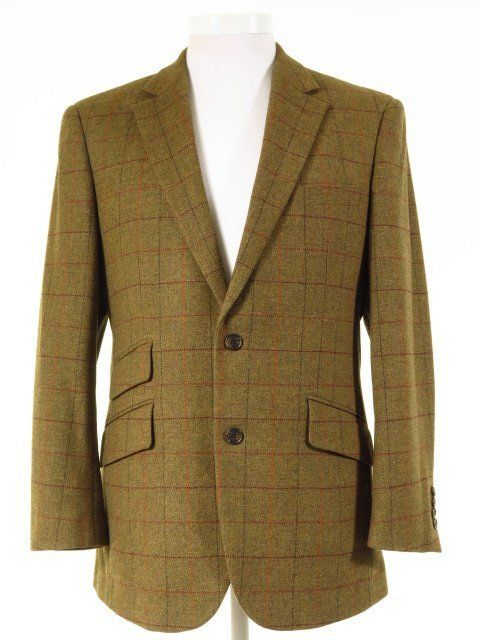 Gurteen Esquire Tweed Jacket W Ticket Pocket 42s Tweedmans Tweed Jacket Vintage Clothing Men Tweed