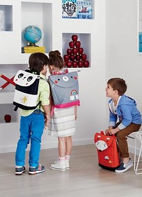 Showing up at school with a wild animal on your back may sound like a bad idea. But take a look at this animal backpack designed for us by artist Michelle Romo, and you'll think twice. It features roomy compartments and padded straps that make it great for carrying all your school supplies.)