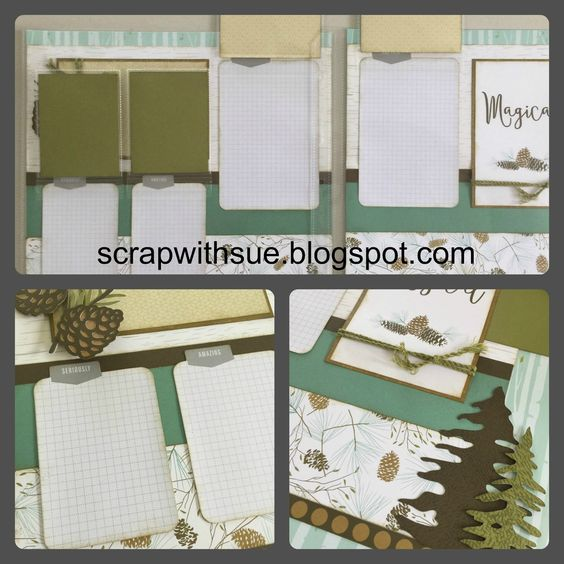 Scrap with Sue: October Club Kit 2 - Oh Deer!