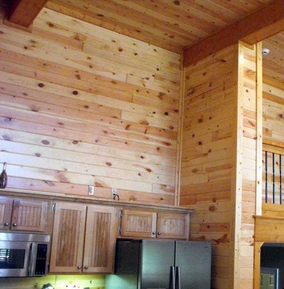 Vintage Knotty Pine Paneling: Knotty Pine Wall Paneling