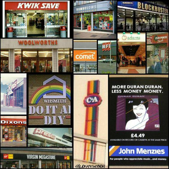 80s shops