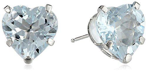 14k White Gold Aquamarine Heart Stud Earrings Amazon Collection http://www.amazon.com/dp/B00GJCXCMQ/ref=cm_sw_r_pi_dp_pSTivb0NGZTSR
