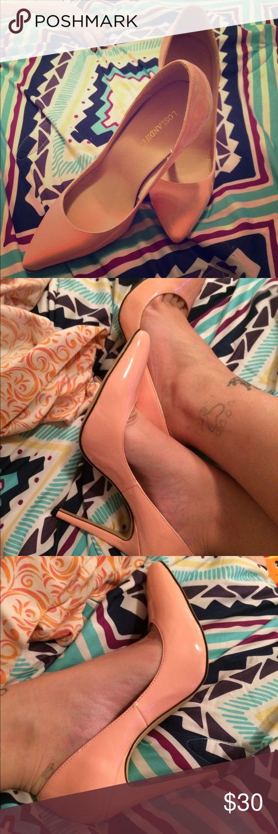 Light pink heels Cute little pink heels Shoes Heels