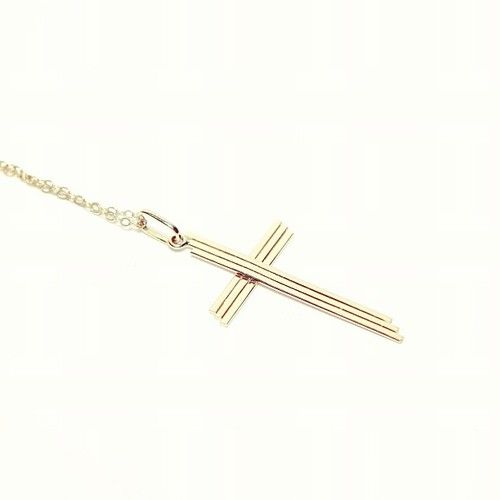 "Shop our ""Crossing Ways"" Necklace #pendant #cross #necklace"