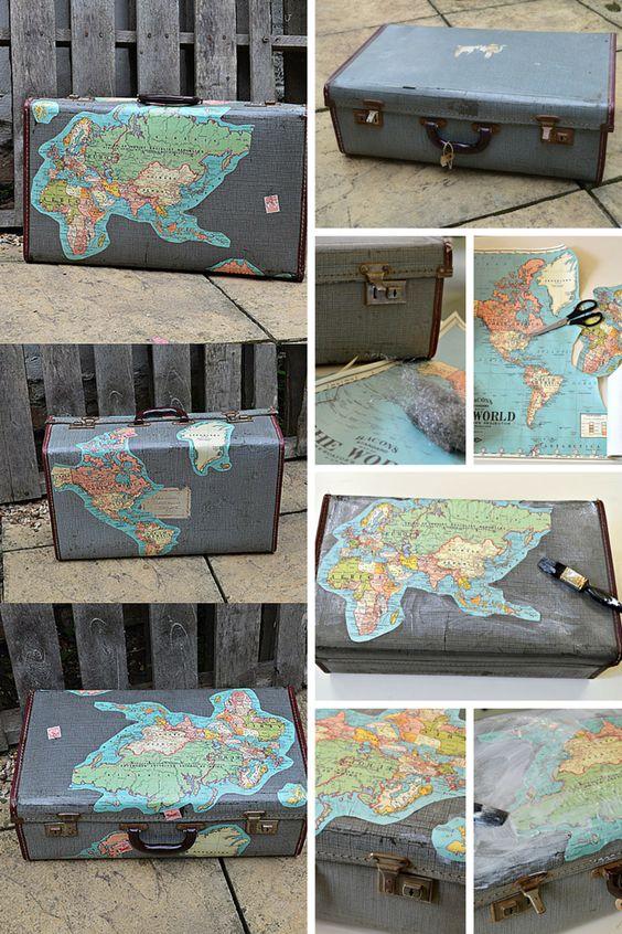 Map suitcase tutorial