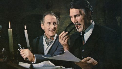 Peter Cushing and Jack Palance are two Poe fanatics in Torture Garden (1967). See/read more: http://horrorpedia.com/2013/01/14/torture-garden/