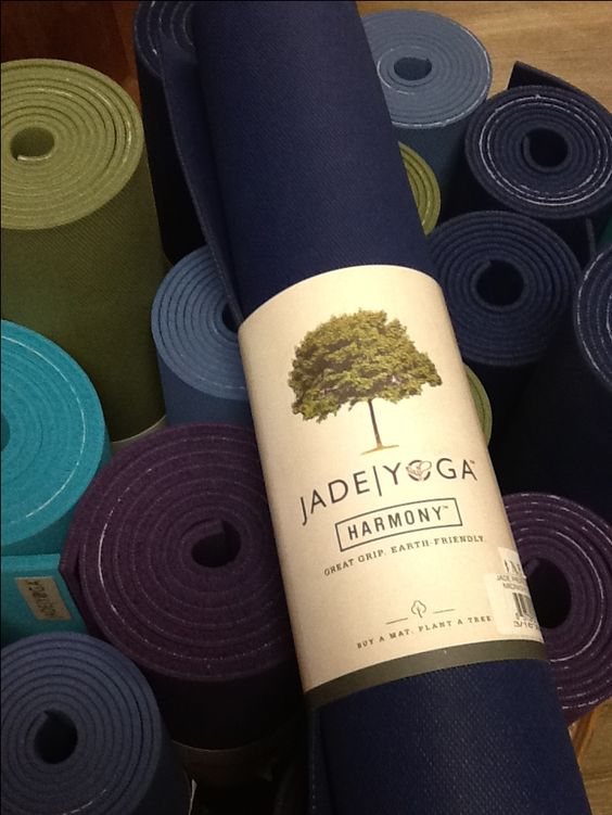 """Give two gifts for the price of one this holiday. When you purchase a Jade yoga mat for yourself Jade and their partner """"Trees For The Future"""" plant a tree giving a gift back to the earth! Jade yoga mats are made in the USA and made of open cell natural rubber."""