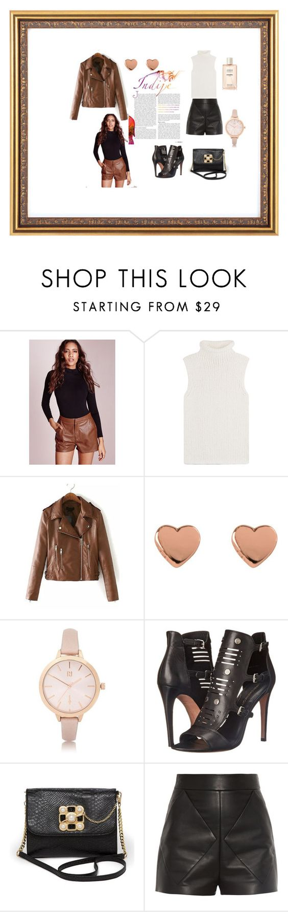 """""""sett"""" by mirzeta-017 ❤ liked on Polyvore featuring beauty, Missguided, Theory, Ted Baker, River Island, Rebecca Minkoff, Bebe and Balenciaga"""