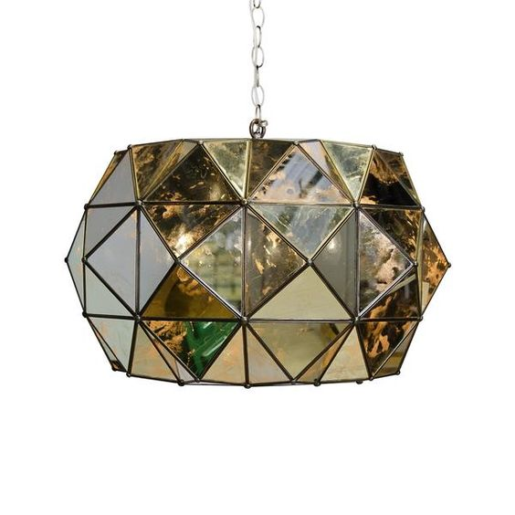 Rozz Pendant antique mirror – Greige Design