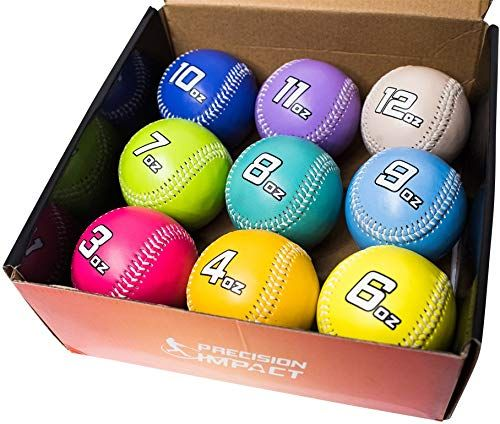 Enjoy Exclusive For Precision Impact Weighted Baseballs Heavy Weighted Baseball Set Throwing Pitching Training Online Topselectsclothing In 2020 Baseballs Online Training Baseball