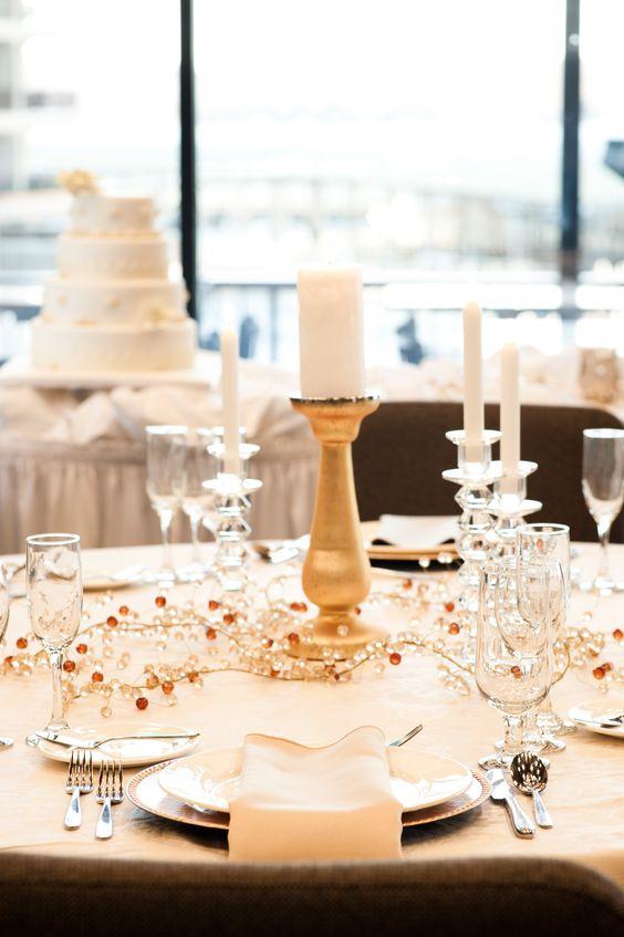 Wedding Set up @ Camden on the Lake Resort
