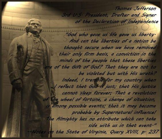 Thomas Jefferson-brilliant!