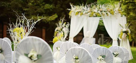 Gorgeous Garden Wedding | dotandbo.com