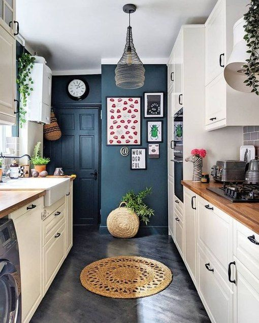 8 Kitchen Accent Wall Ideas That Will Quench Your Thirst For Color Hunker Kitchen Design Small Kitchen Redesign Kitchen Designs Layout