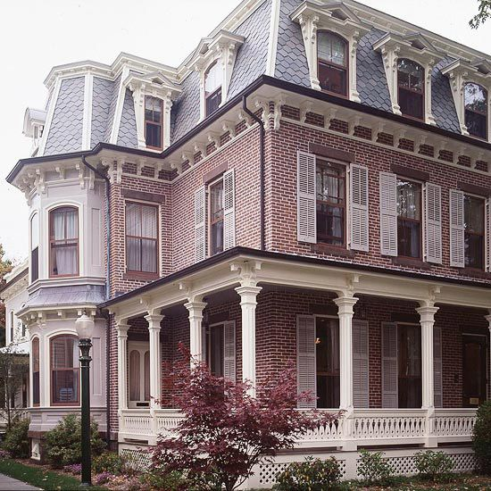 Wraparound Style And Slate Roof On Pinterest