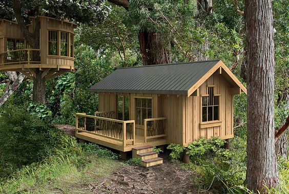 tiny cabins:
