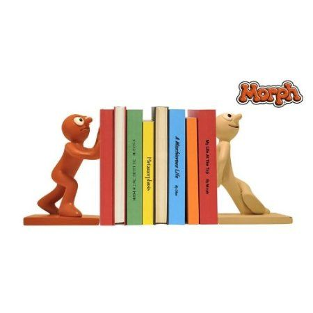 Morph and Chas Book Ends: Amazon.co.uk: Office Products
