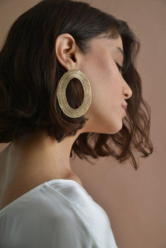 CLAUDE HOOP-STVDIO. #fashion #women's_fashion #jewelry #jewelry_fashion