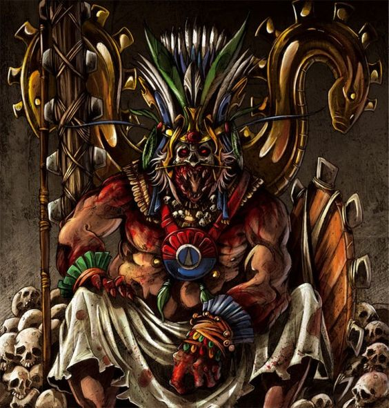 Huitzilopochtli, Aztec God of War, Sun, and Human ...